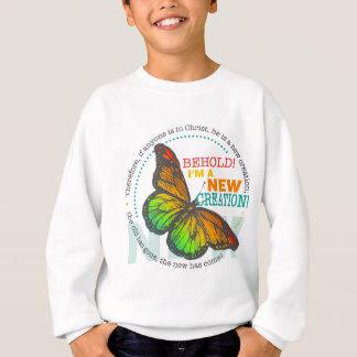 New Creation Butterfly Sweatshirt