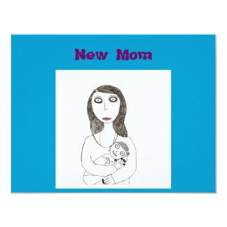 New Creepy Mom 4.25x5.5 Paper Invitation Card