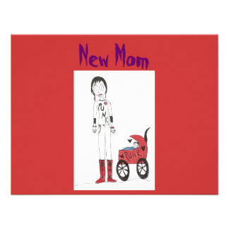 New Creepy Mum Personalized Announcements
