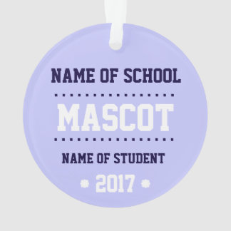 New Customizable Class of 2017 Ornament