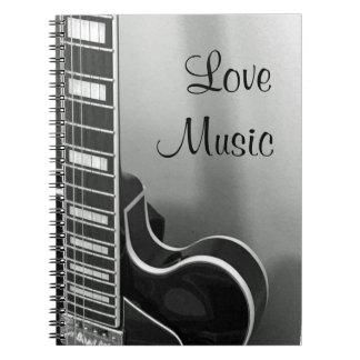 NEW Customizable Love Music Notebook