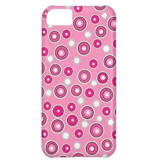 New Cute iPhone Case Pink White Dots Gift Case For iPhone 5C