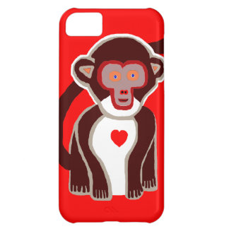 New Cute Red Monkey iPhone Case Gift Cover For iPhone 5C