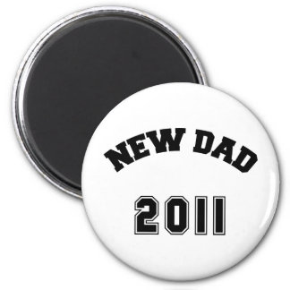 New Dad 2011 6 Cm Round Magnet