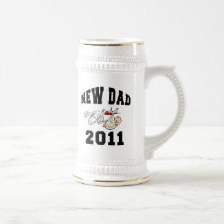 New Dad 2011 Beer Steins