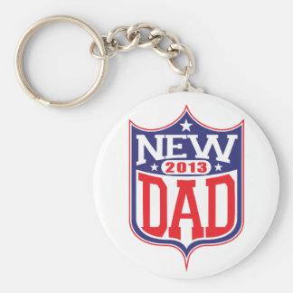 New Dad 2013 Key Ring