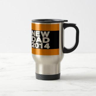 New Dad 2014 Lg Orange Travel Mug