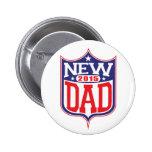 New Dad 2015 Badges