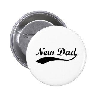 New Dad 6 Cm Round Badge