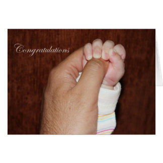 new dad, Congratulations Cards