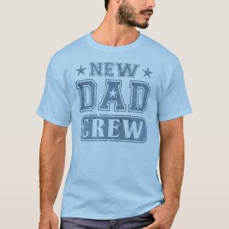 New Dad Crew Denim Texture T-Shirt