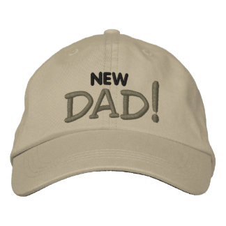 New DAD! Embroidered Hat