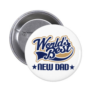 New Dad Gift 6 Cm Round Badge
