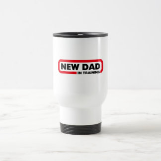 New Dad in Training Stainless Steel Travel Mug