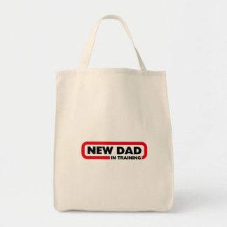 New Dad in Training Tote Bag