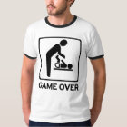 New Dad to be Game Over Diaper duty T Shirt