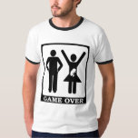 New Dad to Be - Game Over T Shirt