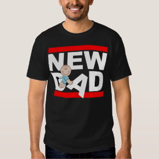 New Dad With New Baby T-shirt