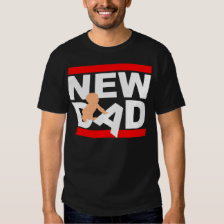 New Dad With New Baby T Shirts