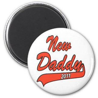 New Daddy 2011 Fridge Magnet