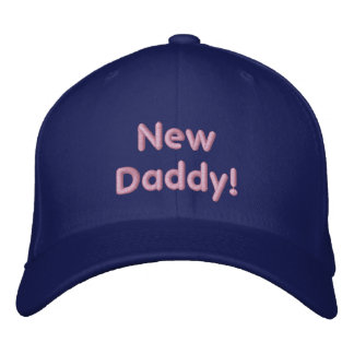 New Daddy! Embroidered Hat