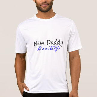 New Daddy Its A Boy Tee Shirts