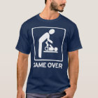 New Daddy to be = Game Over Diaper duty T Shirt