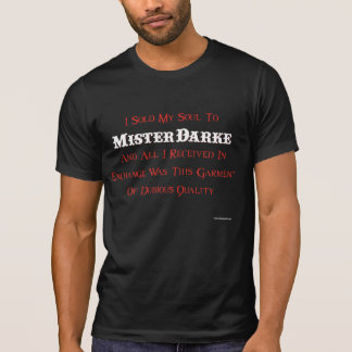 NEW Darke Carnival Cast T-shirt - CAST ONLY