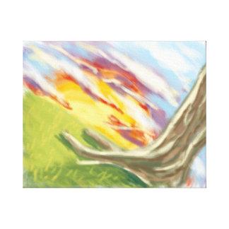 'New Day' 20x16 Premium Canvas (Gloss)