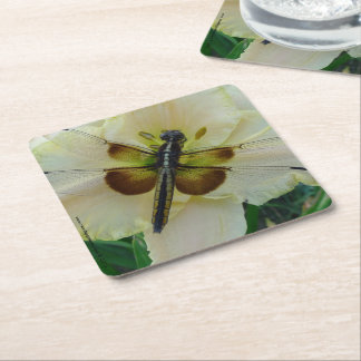 New Day Gardens Daylily & Dragonfly Coaster