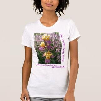 New Day Gardens Shirt- iris Glowing Volcano