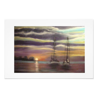 New Day On The Bay Photo Print