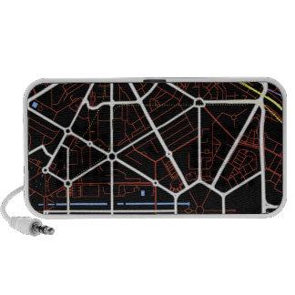 New Delhi Future Map iPod Speaker