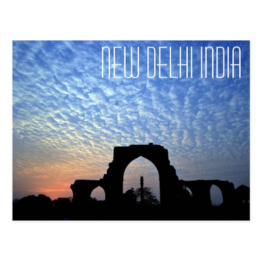 New Delhi India Iron Pillar postcard