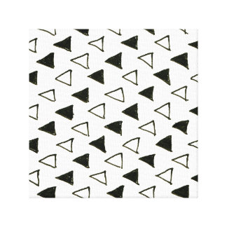 New designers canvas : Black white triangles