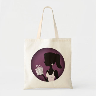 New designers tote bag with Cute girl art