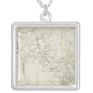 New Discoveries in North America Silver Plated Necklace