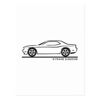 New Dodge Charger Postcard