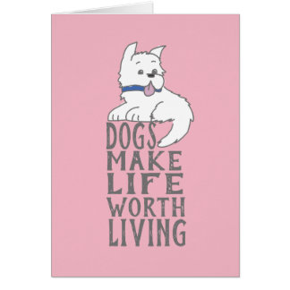 New Dog Congratulations Greeting Card