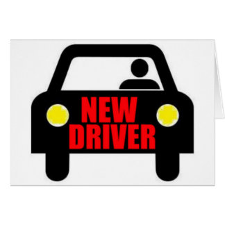 New Driver Card