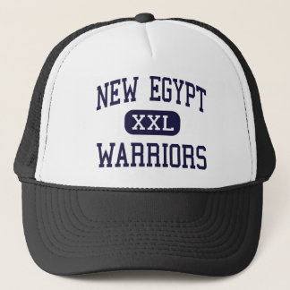 New Egypt - Warriors - High - New Egypt New Jersey Trucker Hat