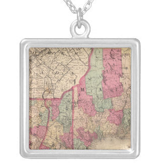 New England 2 Silver Plated Necklace