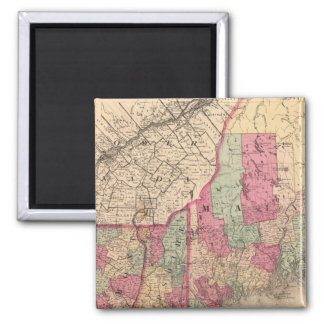 New England 2 Square Magnet