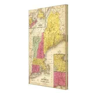 New England 3 Canvas Print
