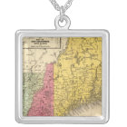 New England 3 Silver Plated Necklace