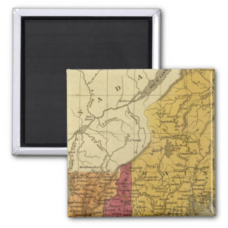 New England 5 Fridge Magnet