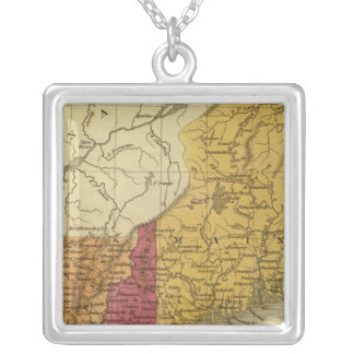 New England 5 Silver Plated Necklace