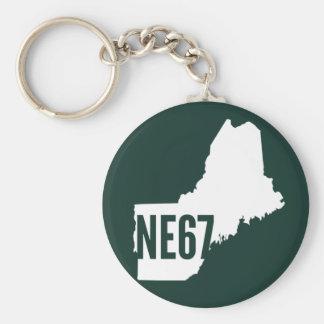 New England 67 Keychain