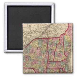 New England and New York Fridge Magnets