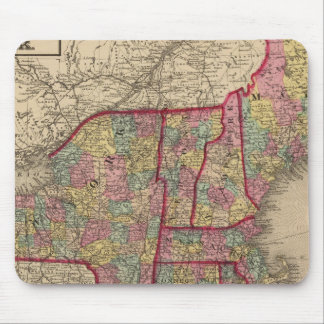 New England and New York Mouse Mat